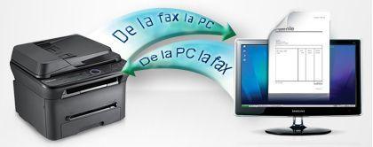 Funcţie fax PC