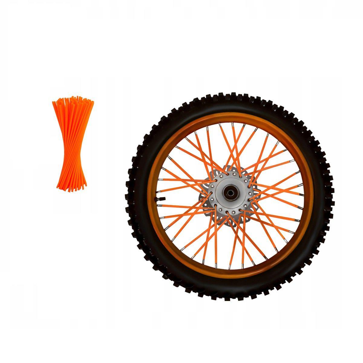 Set Ornamente Tuburi Colorate Pentru Spite 80 Bucati Lungime 30 Cm Culoare Portocaliu
