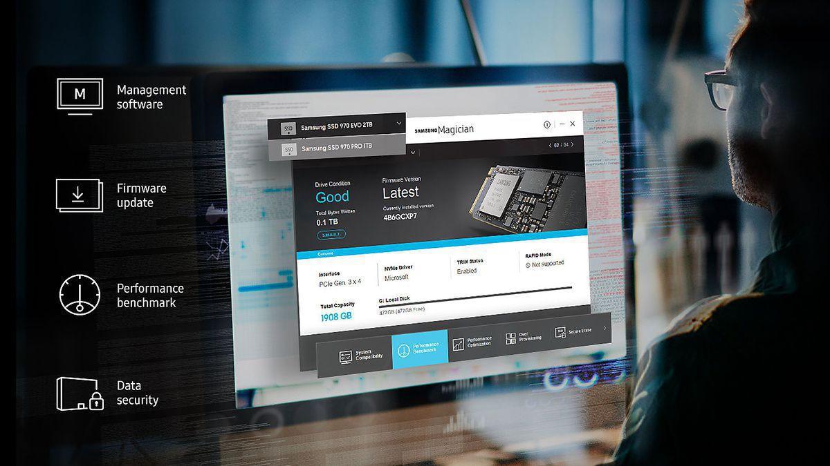 MZ-V7E500BW Samsung 970 EVO 500GB NVMe PCIe M.2 2280 SSD