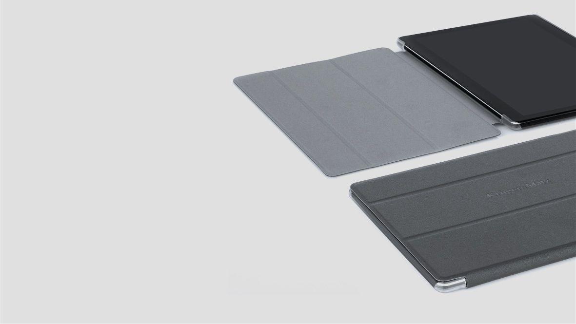 Vrei sa iti iei tableta mereu cu tine, dar ti-e frica sa nu se strice? Solutia ideala este husa dedicata pentru modelul EAGLE 1068 de la Kruger&Matz, care ofera acces la toti conectorii dispozitivului.