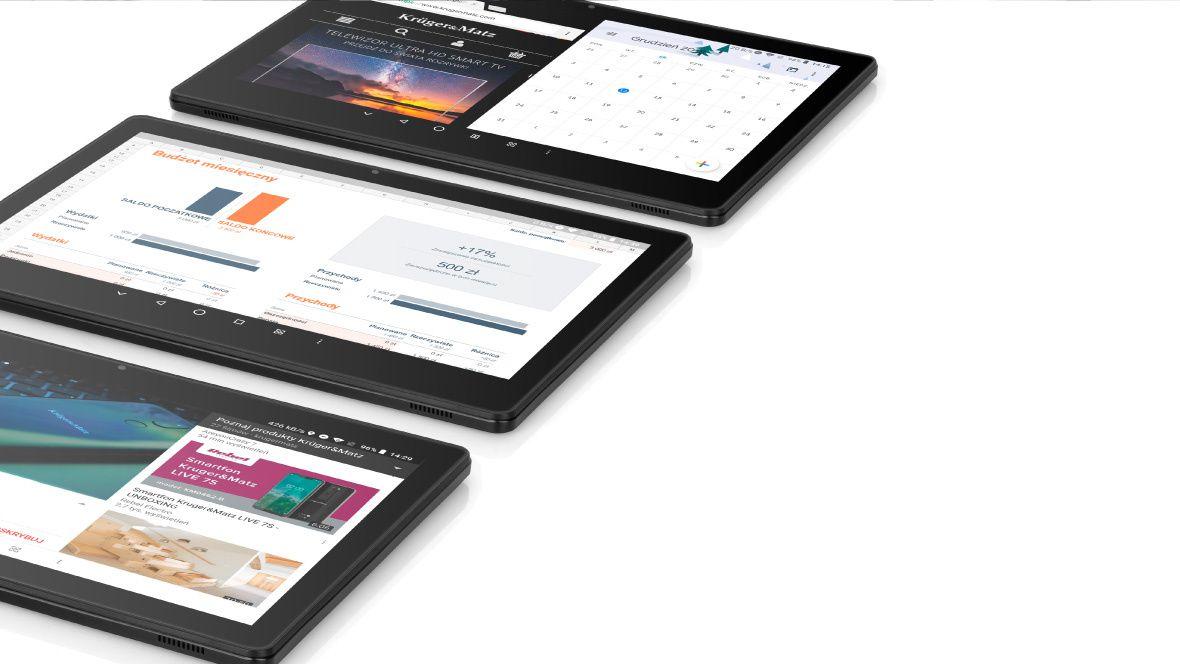 EAGLE 1068 de la Kruger&Matz are sistem de operare Android 8.1 Oreo, extrem de intuitiv, iar folosirea tabletei va fi acum o adevarata placere! Bucura-te de posibilitatile oferite de tableta ta fie ca te uiti pe un site, te joci sau folosesti aplicatiile din Play store.