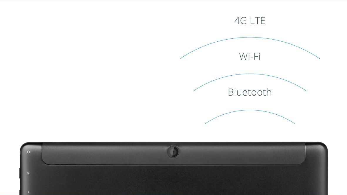 Tableta EAGLE 962 iti ofera conexiune wireless oriunde te afli; modemul 4G iti garanteaza acces la internet chiar daca nu esti in raza unei retele Wi-Fi, iar conexiunea Bluetooth iti permite transferul usor de date
