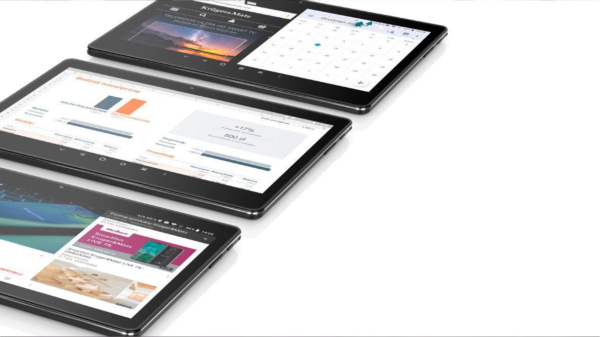 EAGLE 962 de la Kruger&Matz are sistem de operare Android 8.1 Oreo, extrem de intuitiv, iar folosirea tabletei va fi acum o adevarata placere! Bucura-te de posibilitatile oferite de tableta ta fie ca te uiti pe un site, te joci sau folosesti aplicatiile din Play store.