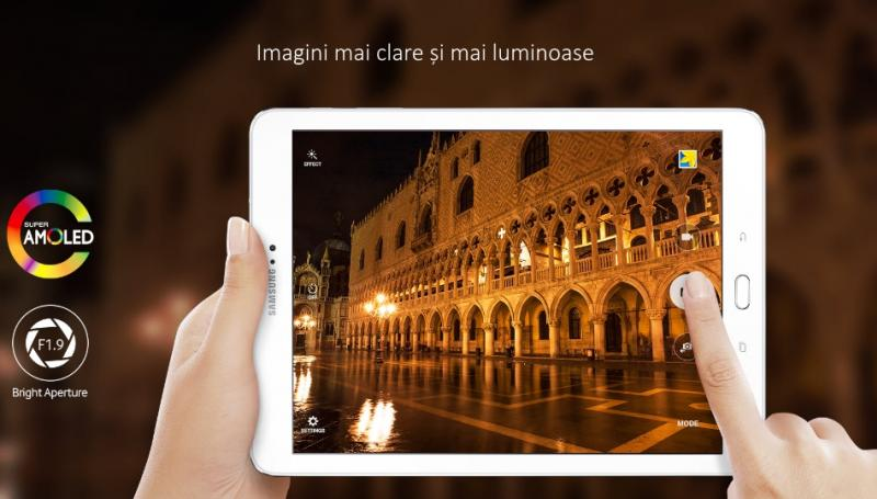 Tableta Samsung Galaxy Tab S2 9.7, Octa-Core (1.8GHz + 1.4GHz), 32GB + 3GB RAM, SM-T813 (Wi-Fi) Black 2