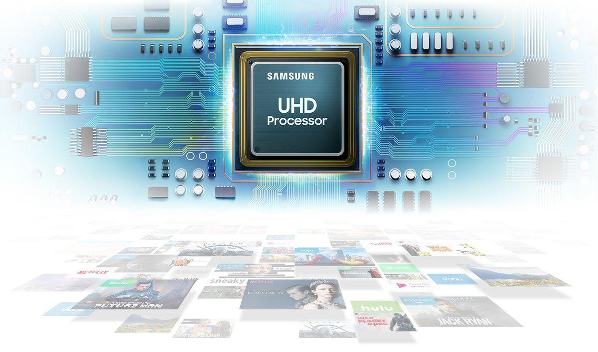 Az UHD processzor kiváló képminőséget biztosít