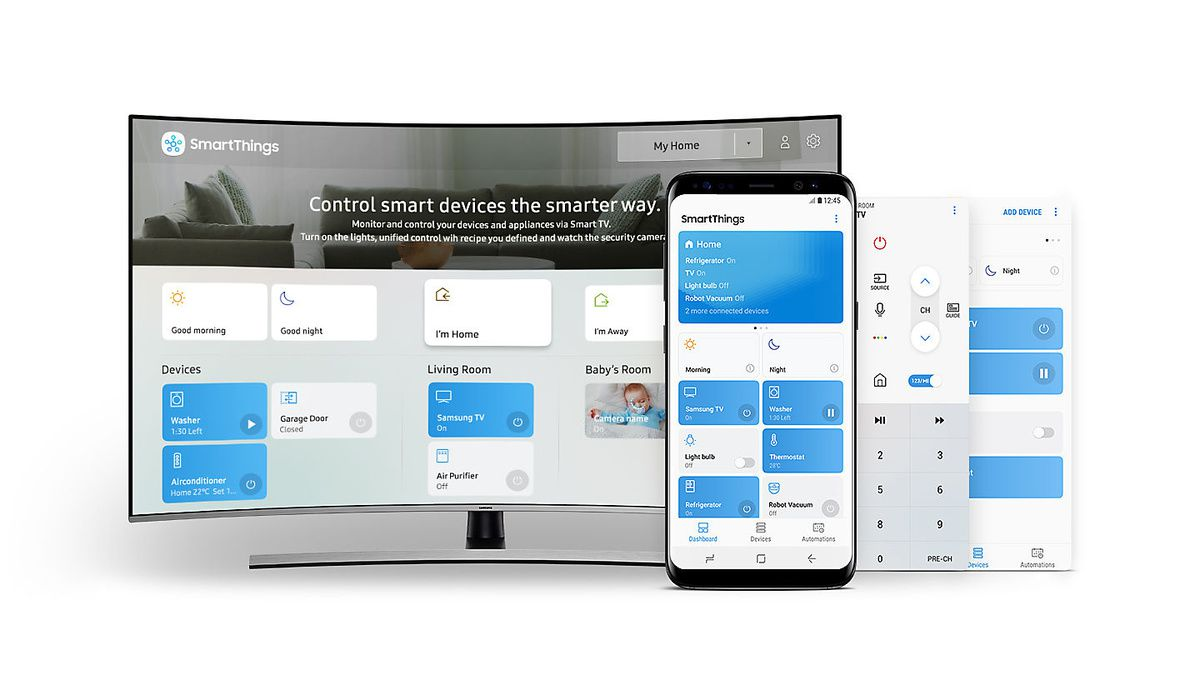 Aplicatia SmartThings, o singură aplicatie pentru toate