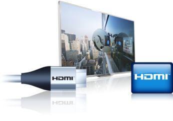 Trei intrări HDMI şi EasyLink pentru conectivitate integrată