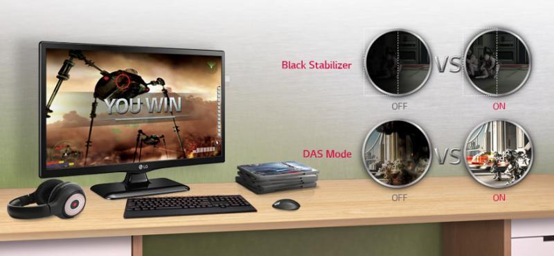 Black Stabilizer si mod DAS (Dynamic Action Sync)