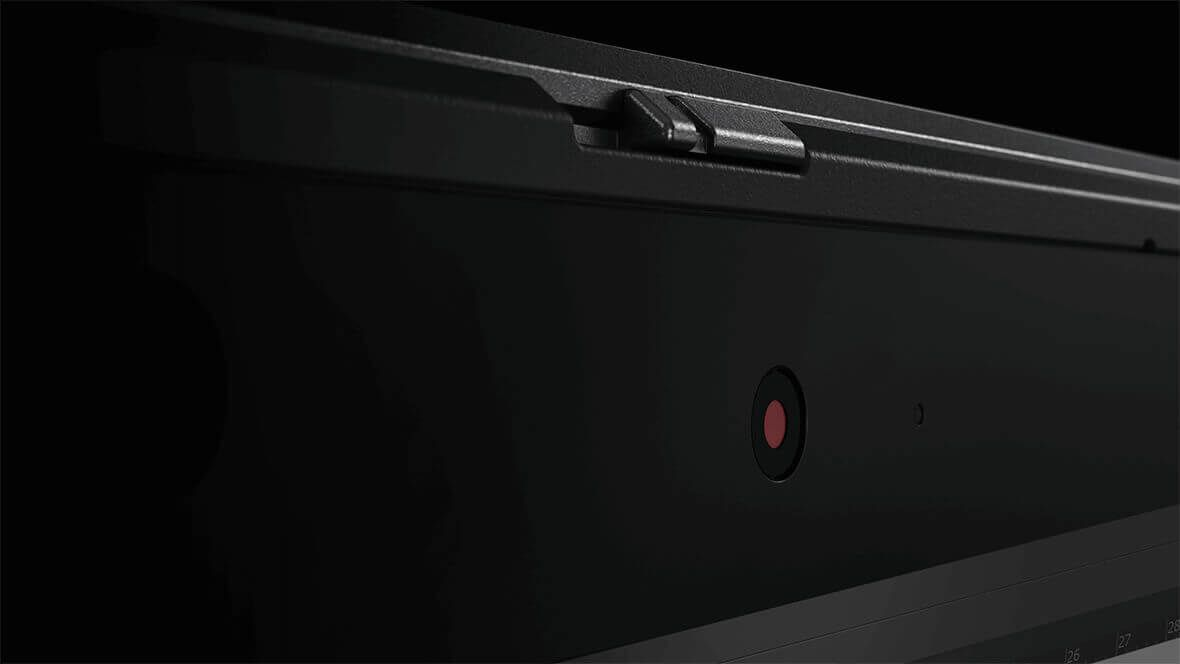 Lenovo ThinkPad X1 Yoga, ThinkShutter closeup