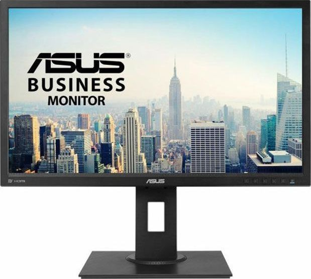 imagine 2 Monitor ASUS BE249QLBH IPS 23.8 inch Wide Full HD DisplayPort HDMI DVI-D D-Sub USB 3.0 ASUS-MON-BE249QLBH BE249QLBH