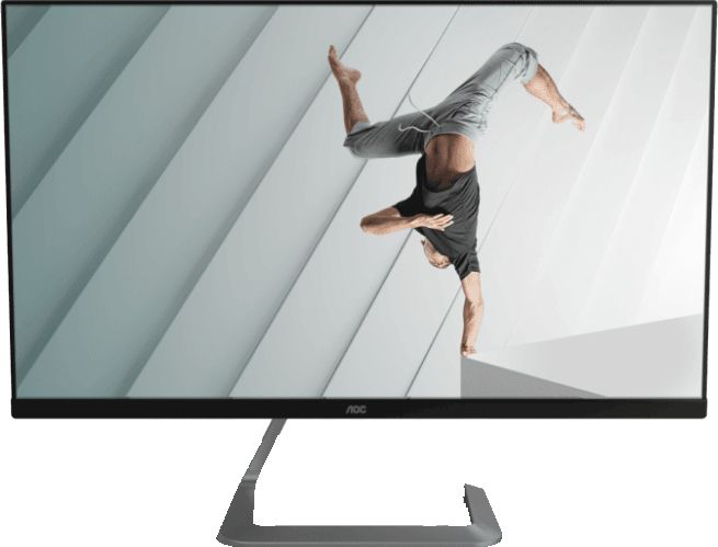 imagine 1 Monitor LED IPS AOC Porsche 27