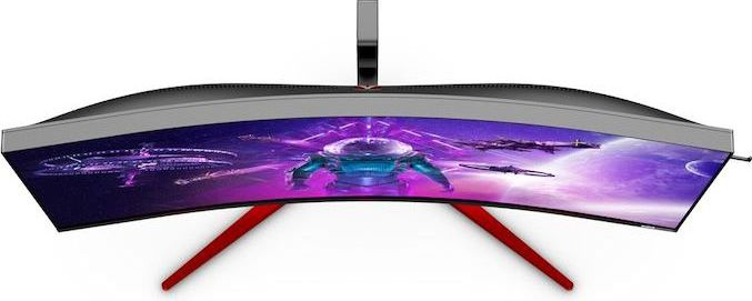 imagine 3 Monitor gaming curbat LED VA AOC AGON 3 35