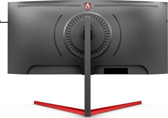 imagine 4 Monitor gaming curbat LED VA AOC AGON 3 35