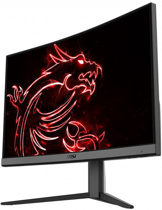 imagine 4 Monitor gaming curbat LED VA MSI 23.6