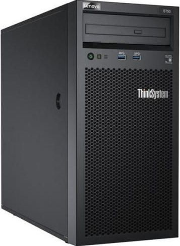 imagine 1 Server Lenovo ThinkSystem ST50 Intel Xeon E-2144G RAM 8GB HDD 2 x1TB PSU 250W 7Y48A02CEA