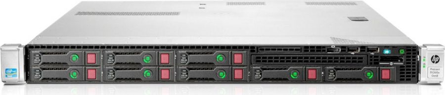 imagine 0 Server Refurbished HP ProLiant DL360e 8 SFF 2 x Hexa Core Xeon E5-2430L v2 2.4 GHz 16 GB DDR3 Smart Array P420 2 x 460W ITS31782100