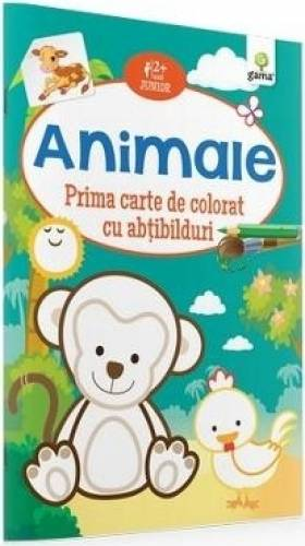 imagine 0 Animale - Prima carte de colorat cu abtibilduri 2 ani+ 978-973-149-535-4