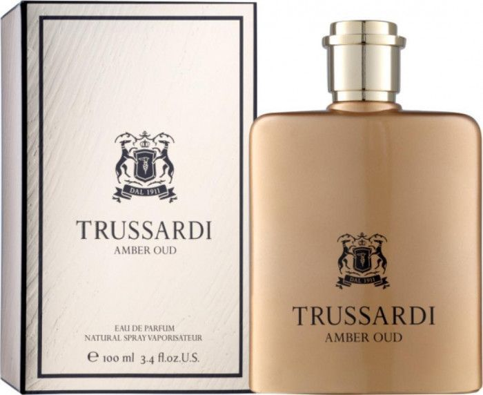 imagine 0 Apa de Parfum Amber Oud by Trussardi Barbati 100ml 8011530015169