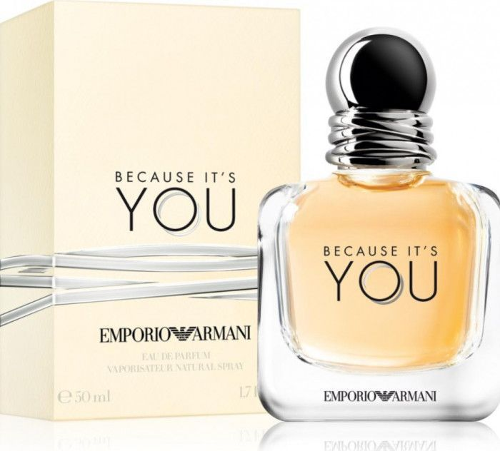 imagine 0 Apa de Parfum Because Its You by Giorgio Armani Femei 50ml 3605522041004