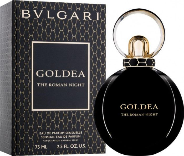 imagine 0 Apa de Parfum Goldea The Roman Night by Bvlgari Femei 75ml 0783320479151