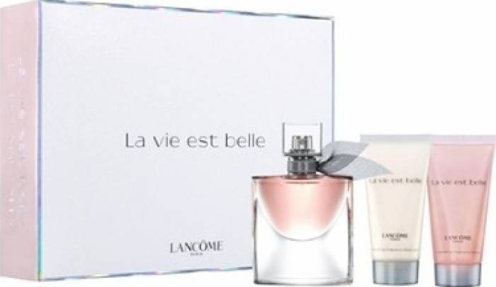 imagine 0 Apa de Parfum La Vie Est Belle 50ml + Body Lotion 50ml + Shower Gel 50ml by Lancome Femei 50ml+50ml+50ml pf_129538