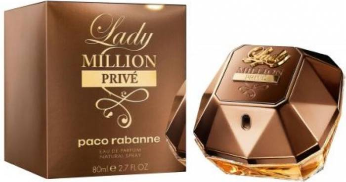 imagine 0 Apa De Parfum Lady Million Prive by Paco Rabanne 80ml Femei 3349668535446