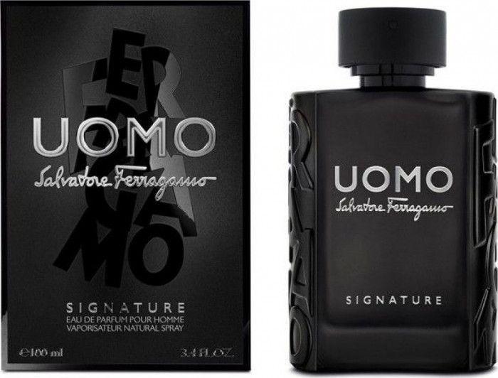 imagine 0 Apa de Parfum Uomo Signature By Salvatore Ferragamo Barbati 100ml 8052086374843