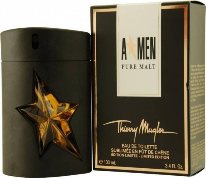 imagine 1 Apa de Toaleta AMen Pure Malt by Thierry Mugler Barbati 100ml 3439600600797