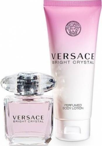 imagine 0 Apa de Toaleta Bright Crystal 30ml + 50ml Body Lotion by Versace Femei 30ml+50ml pf_118883
