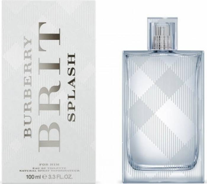imagine 0 Apa de Toaleta Brit Splash by Burberry Barbati 100ml 5045456582149