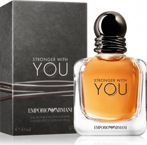 imagine 0 Apa de Toaleta Emporio Stronger With You by Giorgio Armani Barbati 50ml 3605522040281