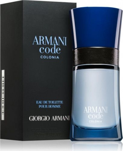 imagine 0 Apa de Toaleta Code Colonia by Giorgio Armani Barbati 50ml 3614270692406