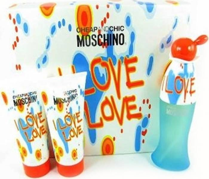 imagine 0 Apa de Toaleta I Love Love 50ml + 100ml Body Lotion + 100ml Shower Gel by Moschino Femei 50ml+100ml+100ml pf_113475