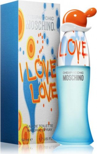 imagine 0 Apa de Toaleta I Love Love by Moschino Femei 50ml 8011003991143