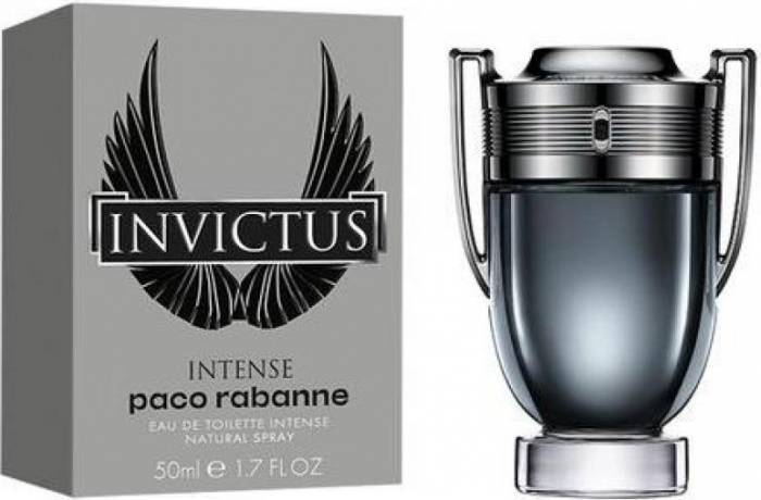 imagine 0 Apa De Toaleta Invictus Intense by Paco Rabanne 50ml Barbati 3349668543052