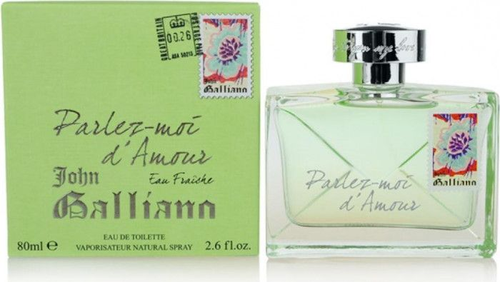 imagine 0 Apa de Toaleta Parlez Moi D Amour Eau Fraiche by John Galliano Femei 80ml 3605473364948
