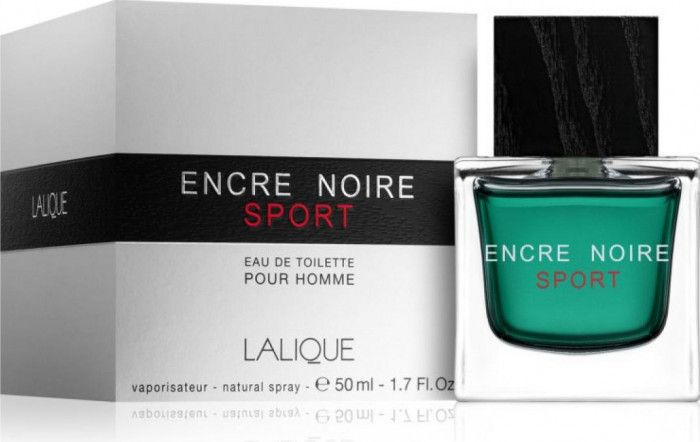 imagine 0 Apa de Toaleta Encre Noire Sport by Lalique Barbatesc 50ml 7640111500896