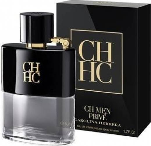 imagine 0 Apa de Toaleta CH Men Prive by Carolina Herrera Barbati 50ml 8411061786345