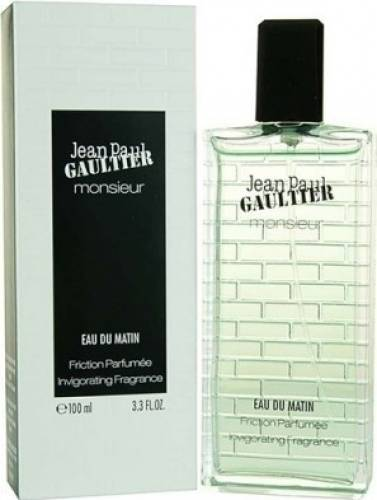 imagine 0 Apa de Toaleta Monsieur Eau du Matin by Jean Paul Gaultier Barbati 100ml pf_122231