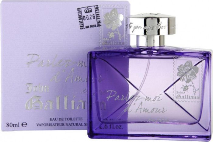 imagine 0 Apa de Toaleta Parlez-Moi dAmour Encore by John Galliano Femei 80ml pf_120010