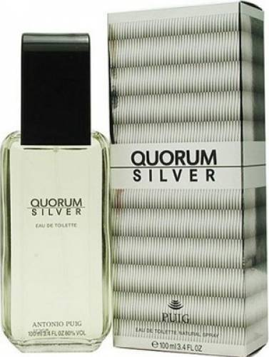 imagine 0 Apa de Toaleta Quorum Silver by Antonio Puig Barbati 100ml pf_125646