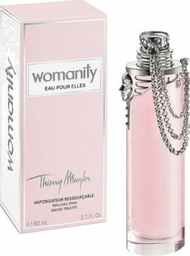 imagine 0 Apa de Toaleta Womanity Eau Pour Elles Refillable by Thierry Mugler Femei 80ml pf_107415