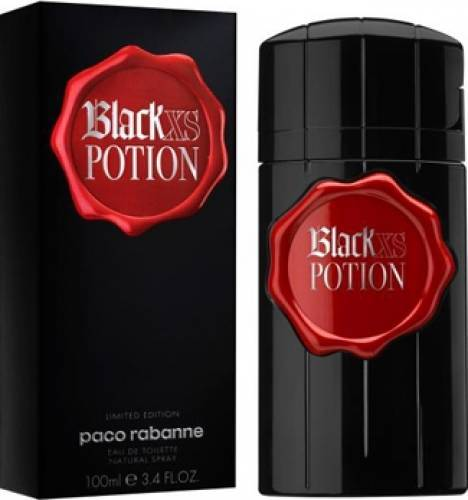 imagine 0 Apa de Toaleta Black XS Potion by Paco Rabanne Barbati 100ml pf_115568