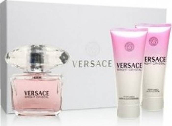 imagine 0 Apa de Toaleta Bright Crystal 50ml + Shower Gel 50ml + Body Lotion 50ml by Versace Femei 50ml+50ml+50ml pf_115305