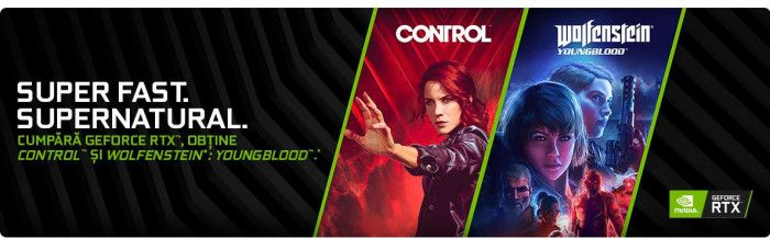 Bundle NVIDIA Wolfenstein Youngblood & CONTROL