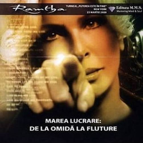 imagine 0 CD Marea Lucrare De la Omida la Fluture - Ramtha 978-606-93736-0-6