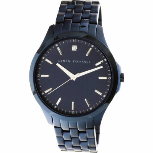 imagine 1 Ceas barbatesc Armani Exchange AX2184 Albastru Otel Quartz areax2184