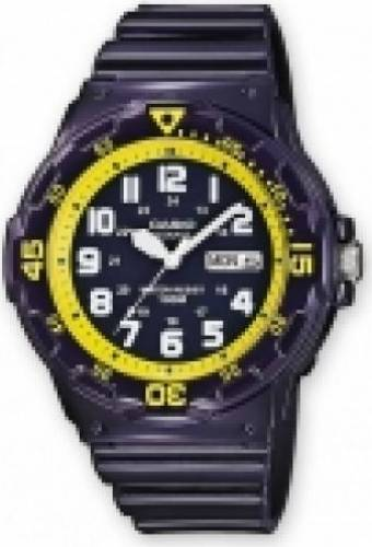 imagine 0 Ceas Barbatesc Casio Collection MRW-200HC-2B  Negru mrw-200hc-2b