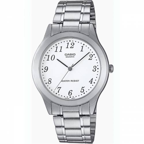 imagine 1 Ceas barbatesc Casio Collection MTP-1128PA-7B Argintiu Stainless-Steel Quartz itjmtp-1128pa-7b