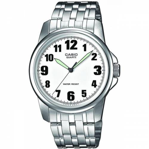 imagine 1 Ceas barbatesc Casio Collection MTP-1260PD-7B Argintiu Stainless-Steel Quartz itjmtp-1260pd-7b